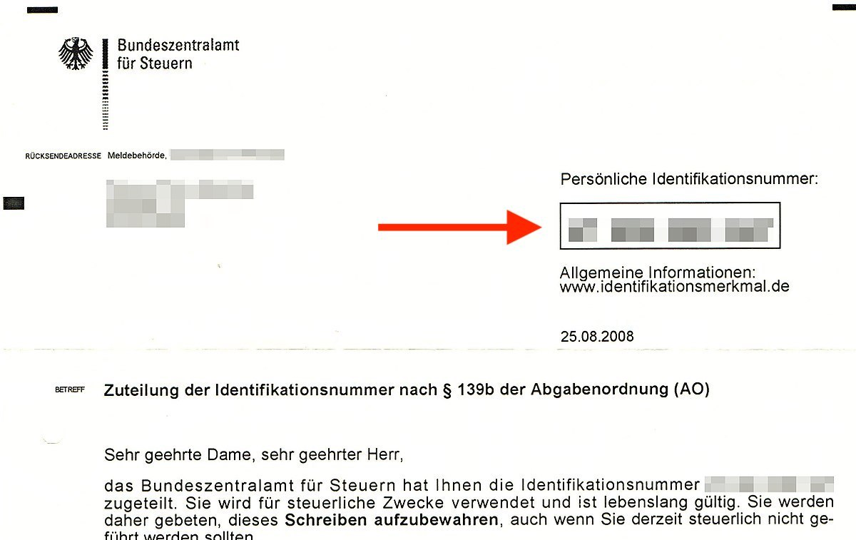 How To Find Your German Tax Id Steuer Id Steuernummer And Vat Number All About Berlin