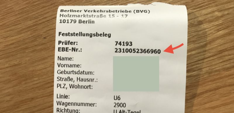 How to pay (or avoid paying) a BVG fine - All About Berlin