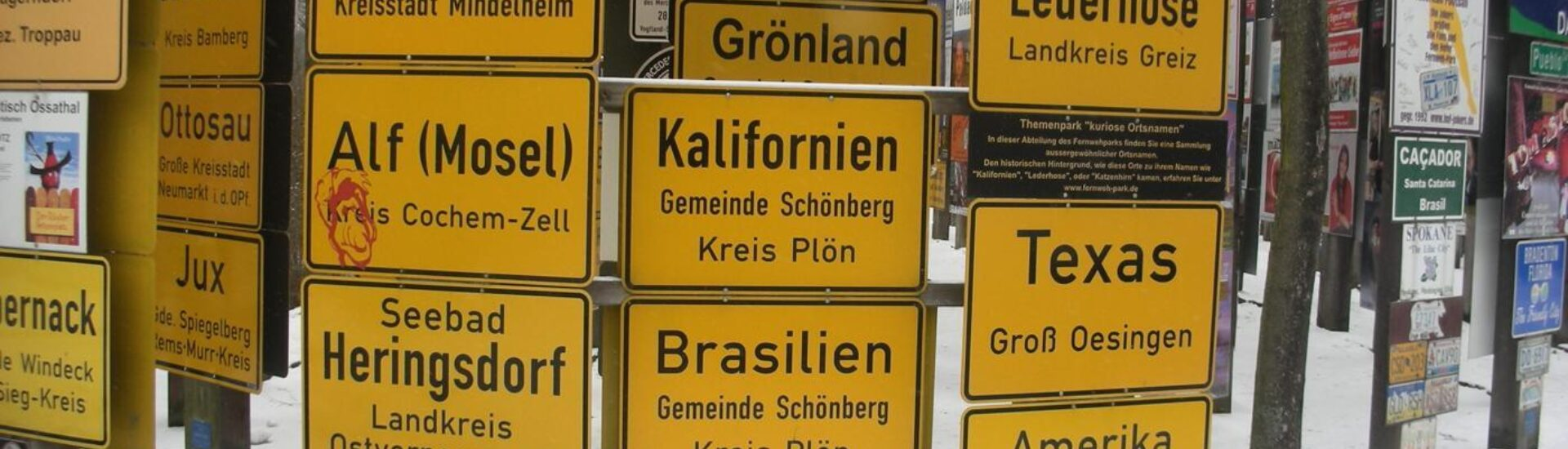 What fonts do German signs use?