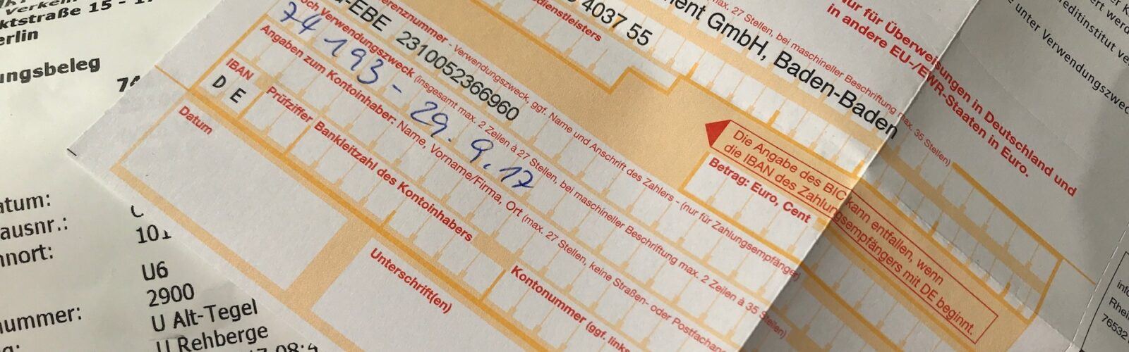 How to pay (or avoid paying) a BVG fine